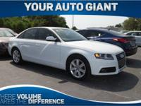 Lavishly luxurious, this 2012 Audi A4 turns even the