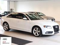 This outstanding example of a 2012 Audi A4 2.0T Premium
