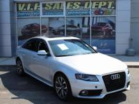 Ice Silver Metallic 2012 Audi A4 2.0T Premium Plus