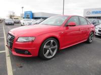 Get lots for your money with this 2012 Audi A4. Curious