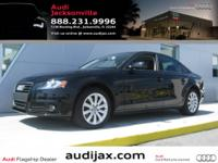 This is a great opportunity to own a CPO A4, at a great
