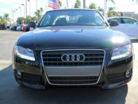 Options:  2012 Audi A5 2.0T Premium Plus|Phantom Black