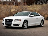 OVERVIEW This 2012 Audi A5 2dr AWD PRESTIGE NAVIGATION
