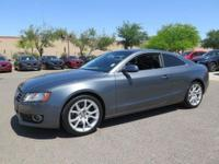 Options:  2012 Audi A5 2.0T Premium|Gray|Clean Carfax.