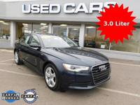 2012 Audi A6 3.0 Premium Plus! ** ACCIDENT FREE CARFAX
