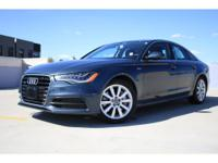 Options:  2012 Audi A6 Premium Bang & Olufsen