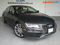 Scores 28 Highway MPG and 18 City MPG! This Audi A7