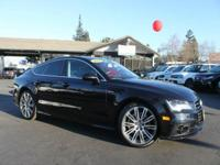 Options:  2012 Audi A7 3.0T Quattro Prestige Awd 4Dr