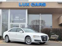 ONE OWNER VERY CLEAN 2012 AUDI A8L! PREMIUM PACKAGE!