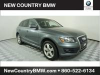 CARFAX One-Owner. Monsoon Gray Metallic 2012 Audi Q5