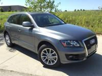 2012 Audi Q5 2.0T Premium. Black w/Leather Seating