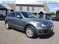PREMIUM KEY FEATURES ON THIS 2012 Audi Q5 include, but