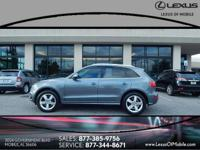 Treat yourself to a test drive in this GRAY 2012 Audi