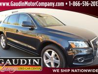 This is a 2012 Audi Q5 3.2 Prestige Luxury SUV in
