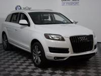 This 2012 Audi Q7 3.0T Premium Plus is proudly offered