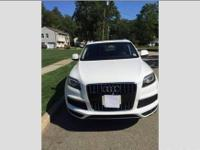 For Sale Audi Q 7 S line Ibis White espresso leather on
