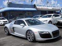 Options:  2012 Audi R8 5.2L|Come And Visit Us At