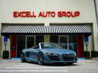 Introducing the rare 2012 Audi R8 V10 Spyder GT (One of