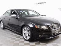 A GREAT BUY ON A 1 OWNER, 2012 AUDI S4 PREMIUM PLUS