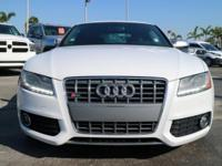 Options:  2012 Audi S5 Premium Plus|/Silk|V8 4.2L