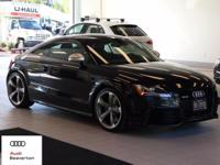 This rare, low miles, 2012 Audi TT RS 2.5T is offered