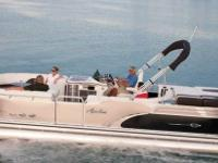 2012 Avalon Excalibur Deco Boat is located in