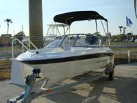 Description 2012 Bayliner 160 Bowrider with Mercury