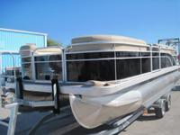 Description 2012 Bennington 24SLX Pontoon Boat with