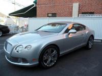 2012 Bentley GT - Moonbeam Silver with Portland grey