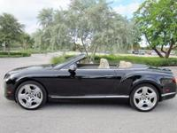 This ONE OWNER 2012 Bentley Continental GTC Convertible