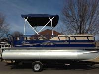 ,..,,2012 Bentley 20ft Pontoon Boat equipped with a