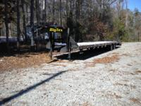 Big Tex 22GN-35+5 Gooseneck Tandem Axle Trailer 102""