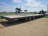 2012 BIG TEX OVER THE AXLE TRAILER 40' LENGTH, 22GN,