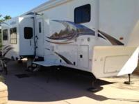 Fifth wheel trailer with balance of warranty until