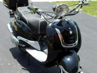 Like new 2012 BMS Heritage 150 scooter. Mint condition