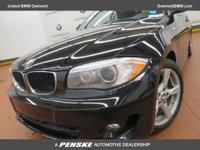 ======: This 2012 BMW 128i Convertible has a Jet Black