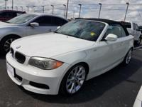 Check out this Alpine White 2012 BMW 1 Series 135i