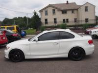 White 2012 BMW 1 Series 135i RWD 6-Speed Manual 3.0L I6