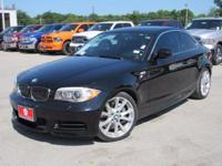 New Price! Black Sapphire Metallic 2012 BMW 1 Series