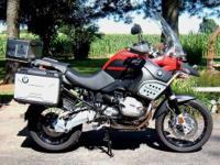 2012 BMW 1200 GS Adventure, 5800 miles as of now, $1550
