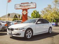 Options:  2012 Bmw 3 Series 328I|Clean Carfax. White