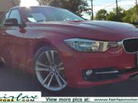 2012 BMW 3 Series comes with a RARE Sportline package