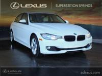 Clean CARFAX.  2012 BMW 3 Series 328i 2.0L 4-Cylinder