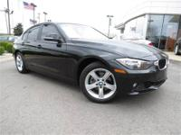 2012 BMW 328i, Certified Pre Owned! Beautiful Jet black