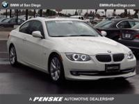 This 2012 BMW 3 Series 2dr 2dr Cpe 328i RWD SULEV Coupe