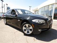 2012 BMW 528xi, Beautiful Jet black with Oyster and