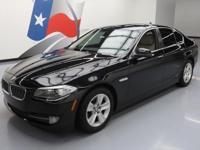 2012 BMW 5-Series with 2.0L Turbocharged I4