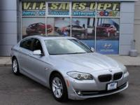 Cashmere Silver Metallic 2012 BMW 5 Series 528i xDrive