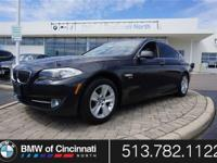 Our 2012 BMW 5-Series 528i xDrive Sedan is dressed to