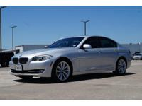 We are excited to offer this 2012 BMW 5 Series. Drive